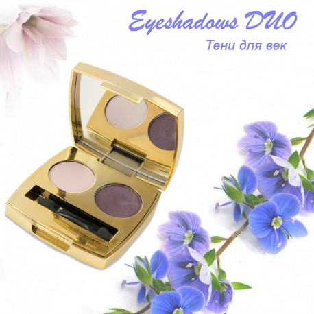Тени для век Eyeshadows DUO